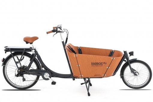 Das Babboe E-Bike als Transporter