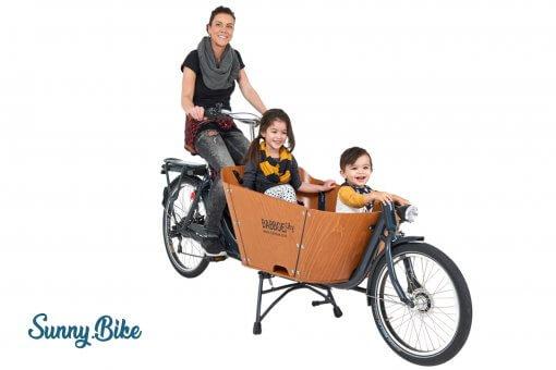 Mit drei Personen komfortabel unterwegs
