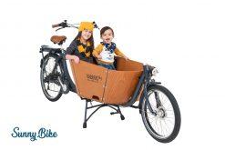 Das Lastenrad für zwei Kinder und einen Erwachsenen