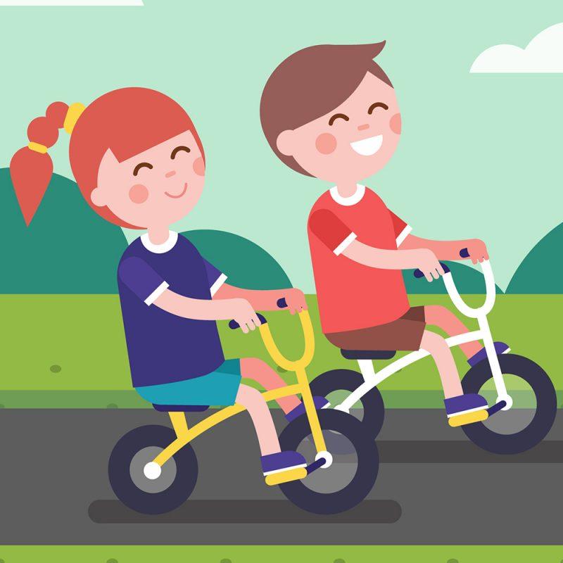 Kinderräder auf Fehmarn leihen.