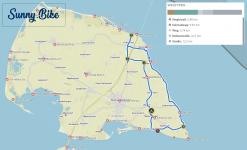 Mit Sunny.Bike erkundet auf E-Bikes den Inselosten.